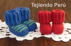 Tutorial: botitas tipo medias tejidas a crochet para bebés de 0 a 6 meses!