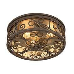 "Casa Seville 12"" Wide Indoor -Outdoor Ceiling Light Fixture. 150. Also comes in 15"" wide."