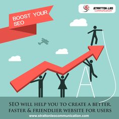 Create a better, faster & user-friendly website & see your business escalate in no time! #StrattonLeo #WebsiteDevelopment #SEOSpecialists http://www.strattonleocommunication.com/