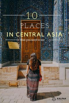 Top places to see in Central Asia Traveling to Central Asia is easier now than ever before. Take your time and really enjoy this amazing destination. Cabo San Lucas, Asia City, Solo Travel, Travel Tips, Travel Guides, Travel Plane, Travel Goals, Travel Packing, Travel Backpack
