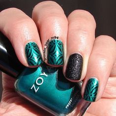 Instagram photo by brookie_bear_m94 #nail #nails #nailart