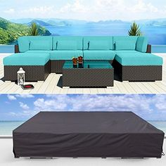 Furniture Covers Essort Garden Cover Patio Waterproof Sofa Set Outdoor 2 12 Seater Corner Table Chairs Pvc