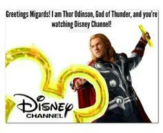 Thor ~ Disney channel