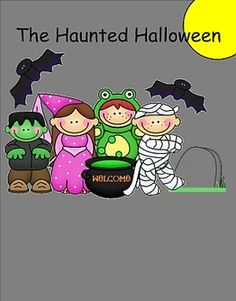 This is an interactive writing activity for the entire class or for a writing center. Students move the graphics to where they want on the haunted ...