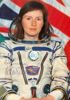 Helen Sharman, first British person  in space and fifth youngest at 28.