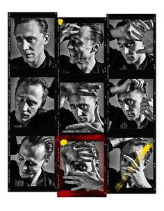 """Andy Gotts: """"My exhibition #UNSEEN next launch is Wednesday @ShowroomPresent in Fulham. The first 30 of 100 #ContactSheets hung!"""" (http://maryxglz.tumblr.com/post/162311914552/andy-gotts-drgotts-my-exhibition-unseen-next )"""