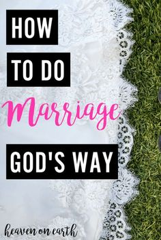 How to do Marriage God's Way book | marriage advice | relationship advice | christian marriage books | christian relationship books | Scott LaPierre | marriage bible verses | christian marriage tips
