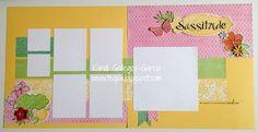 """Brushed """"Sassitude"""" Layout - Double Page, Kandi Gallegos-Garcia photo Brushed Sassitude Layout Double Kandi Gallegos-Garcia.jpg"""