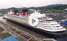 Sucedía el pasado 29 de Abril cuando el primer barco de crucero cruzaba el nuevo Canal de Panamá ampliado. No te pierdas los vídeos y los detalles.