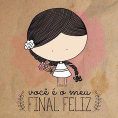 meu final, começo, meio; tudo feliz! ☺️ #biaPOF