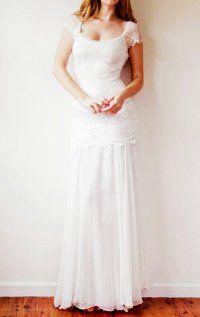 Bohemian Wedding Dresses | Hippie: Cream Dress Bohemian Hippie 60s 70s REDUCED PRICE - Wedding ...