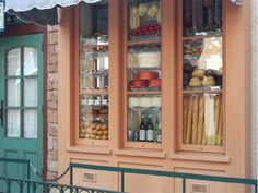 French Bakery Storefront