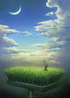 Astronomer by Vladimir Kush.