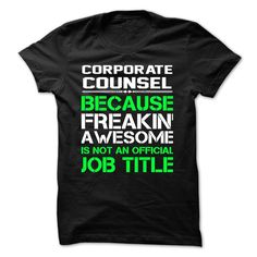 Corporate Counsel T Shirt, Hoodie, Sweatshirt