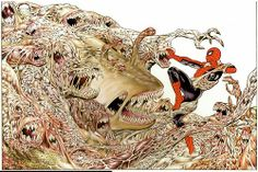 Berni Wrightson's cover art for Marvel Graphic Novel #22: The Amazing Spider-Man: Hooky