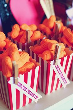 Themed Valentine's Day Party {Ideas, Decor, Planning, Cake} Circus themed Party with Lots of Really Cute Ideas via Kara's Party Ideas Circus themed Party with Lots of Really Cute Ideas via Kara's Party Ideas Circus Carnival Party, Circus Theme Party, Carnival Food, Carnival Birthday Parties, Circus Birthday, First Birthday Parties, Birthday Party Themes, First Birthdays, Vintage Carnival