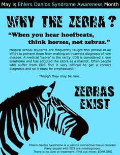 May is Ehlers-Danlos Syndrome Awareness Month