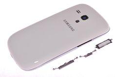 Корпус Samsung i8190 Galaxy S3 Mini (белый)  Корпус Samsung i8190 Galaxy S3 Mini (белый)