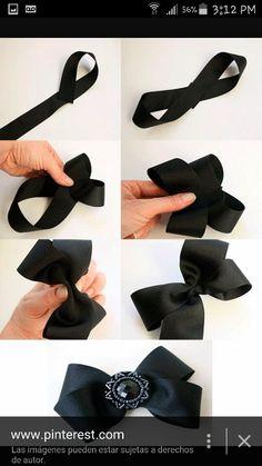 Super hair accessories diy headband how to make Ideas Diy Ribbon, Ribbon Crafts, Ribbon Bows, Making Hair Bows, Diy Hair Bows, Hair Bow Tutorial, Diy Tutorial, Baby Girl Bows, Hair Ribbons