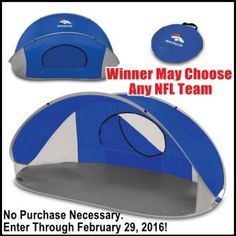 Win+an+NFL+Manta+Sun+Shelter+valued+at+$90!++ Charlie Sheen, Just For Men, February 2016, Enter To Win, Giveaway, Gadgets, Technology, Places, Fun