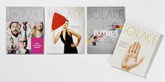 SOLACE Magazine by Plenty Creative , via Behance