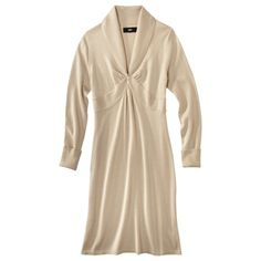 Mossimo® Women's Shawl Collar Sweater Dress w/Front Twist - Assorted Colors.Opens in a new window