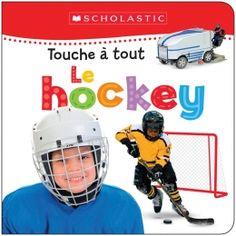 « Enfile tes patins, attache tes lacets, saute sur la glace et te voilà en route pour la coupe! »  Ce livre tout carton à zones texturées s'adresse aux bambins hockey. Le livre idéal!