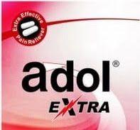 ادول اكسترا اقراص مسكن للألم والالتهابات والروماتيزم وخافض للحرارة ادول الاحمر Adol Extra Tech Company Logos Company Logo Tech Companies