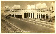 Pacaembu soccer stadium in 1940 / Sao Paulo - Brazil