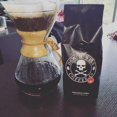 A match made in coffee heaven. #deathwishcoffee #chemex #coffee http://ift.tt/1U25kLY