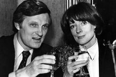 Dame Maggie Smith and Alan Alda
