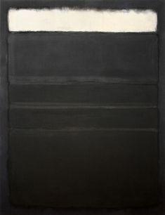 Mark Rothko | Untitled White, Blacks, Grays on Maroon.