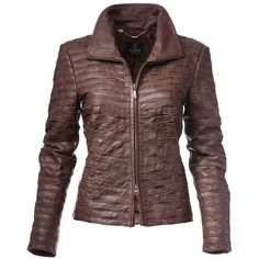 Search leather jackets | MADELEINE Fashion ($13) ❤ liked on Polyvore featuring outerwear, jackets, real leather jackets, brown leather jacket, brown jacket, genuine leather jackets and 100 leather jacket