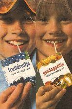 Fruitdruifje en Goudappeltje Kijk voor meer merken op www.VerdwenenMerken.nl