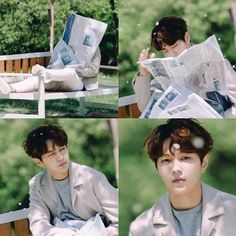 What will you do if you see this in the garden. When you go for jog. I will die that instant. He is so adorable 😘 Asian Actors, Korean Actors, Kdrama, Kim Myung Soo, Myungsoo, Kpop Boy, Korean Drama, Actors & Actresses, Love