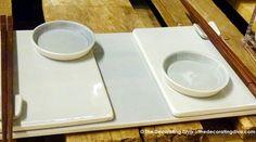 Anne Black Ceramic Sushi Serving Set | The Decorating Diva, LLC