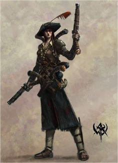 lady gunslingers photos   female gunslinger pirate jpg na ren gunslinger steam cinders ...