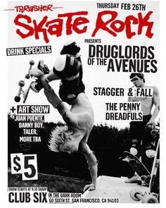 Thrasher Skate Rock magazine