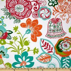 Covington Razzle Sherbet - Discount Designer Fabric - Fabric.com