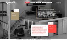 Website | Kuantica by The Negra, via Behance