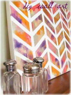 Le masking tape , scotch japonais en papier washi , a révolutionné le monde du DIY ! avec trois fois rien, on peut customiser des murs ...