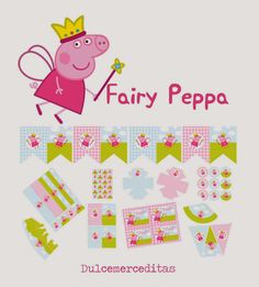 - Oh My Fiesta! in english Fiestas Peppa Pig, Cumple Peppa Pig, Pig Birthday, 4th Birthday Parties, Birthday Ideas, Peppa Pig Printables, Pig Candy, Peppa Pig Family, Baby Party