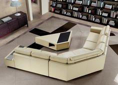 Modern Contemporary U-Shaped Sectional Sofa