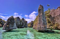 the Island that should be visited in Raja Ampat- Misool island