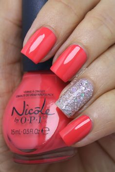 New Nicole by OPI Seize the Summer Collection 2014, The Coral of the Story