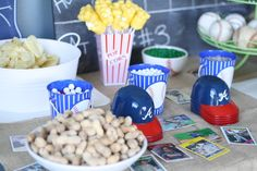 Great ideas for Baseball Party!