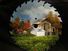 Tractor & Barn Round Blade - 7-8"