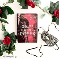 """5/⭐️ """"A Court of Thorns and Roses"""" by Sarah J. Maas . . I feel like I have seen this book everywhere on bookstagram and it sounded right up my alley so I had to get it. For me I had high expectations and was surprised when it took me a while to get into it. I felt like it had a pretty slow start, maybe slow's not the right word... A pretty expected? Mundane? I'm not sure the right word, but it didn't blow me away and the main characters name killed me. Come on Sarah! Let's not write a book…"""