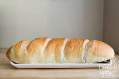the baker upstairs: french bread