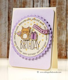 Fun card by Wanda Guess using brand New Simon Says Stamp Exclusives.